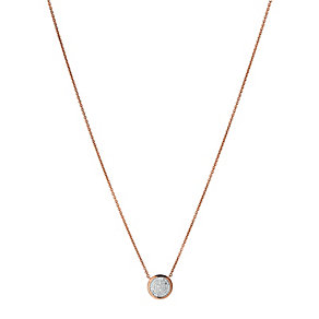 Links of London 18ct Rose Gold Vermeil Diamond Necklace - Product number 3887227