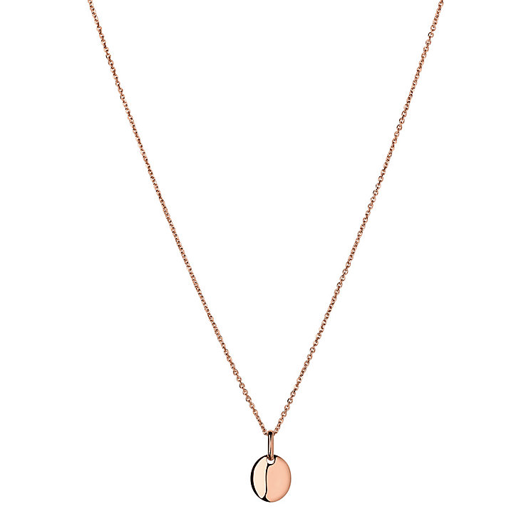 Links of London Grace 18ct Rose Gold Vermeil Pendant - Product number 3887243