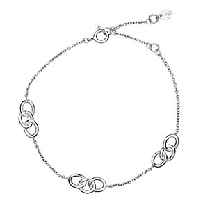 Links of London Signature 3 Station Silver Bracelet - Product number 3887294