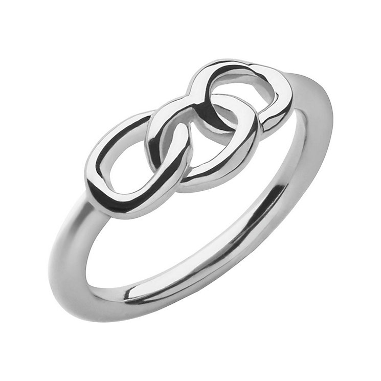 Links of London Signature Mini Sterling Silver Ring L - Product number 3887359