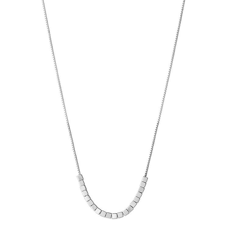 Links of London Cubist 45- 50cm Sterling Silver Necklace - Product number 3887391