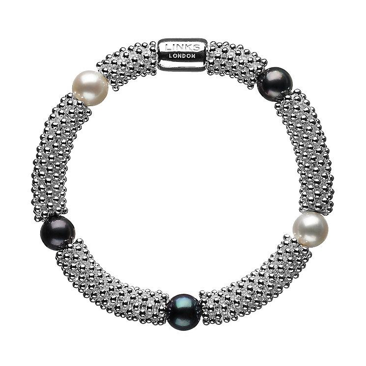 Links of London Effervescence Sterling Silver Star Bracelet - Product number 3887669