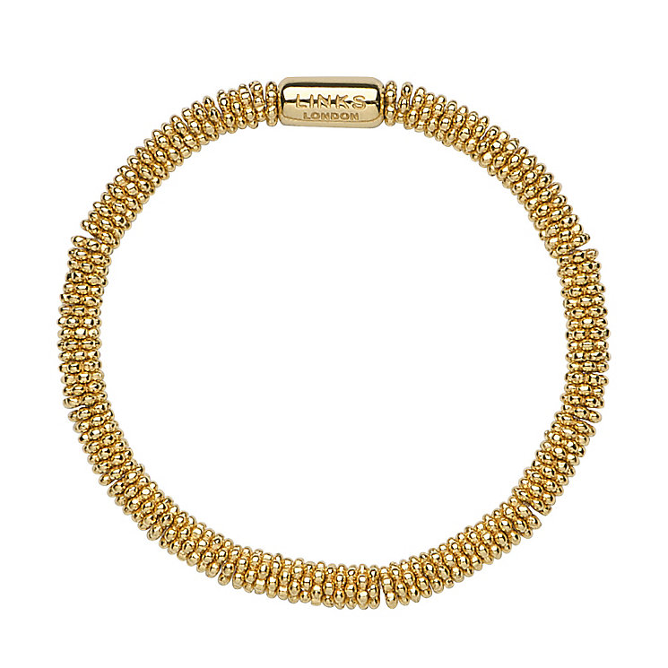 Links of London Effervescence 18ct Gold Vermeil Bracelet XS - Product number 3887677