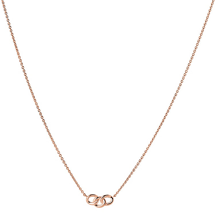 Links of London Signature Mini Rose Gold Vermeil Necklace - Product number 3887693