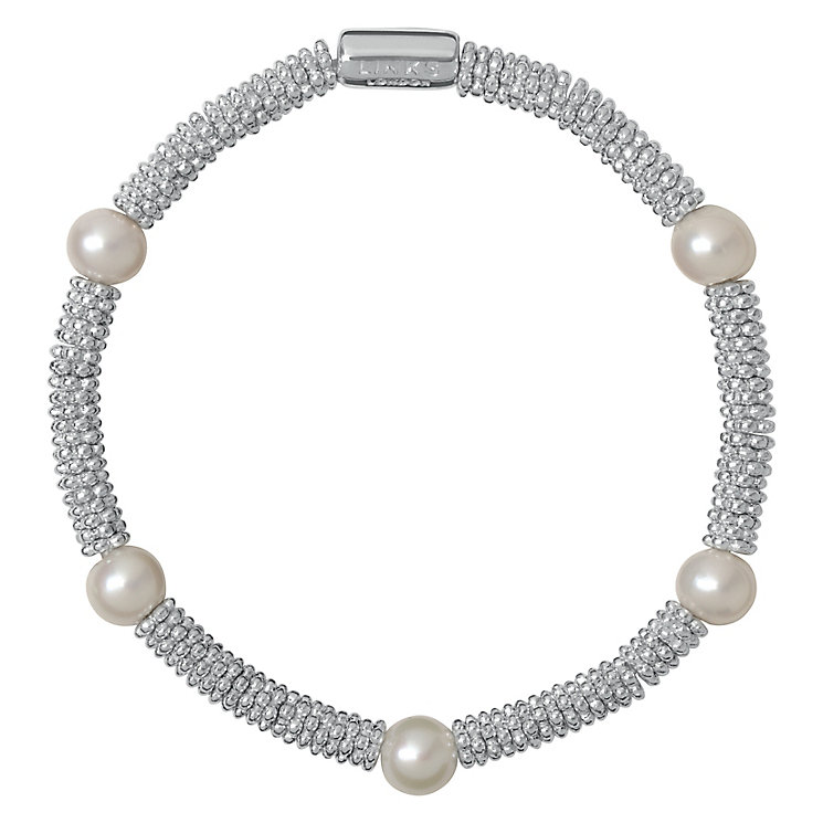 Links of London Effervescence Silver & Pearl Bracelet XS - Product number 3887901