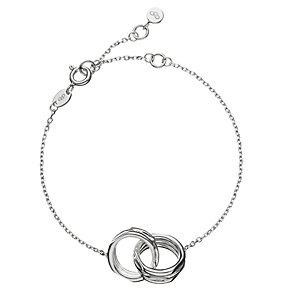 Links of London 20/20 Sterling Silver Interlocking Bracelet - Product number 3887936