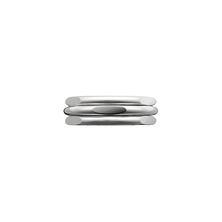 Links of London 20/20 2Sterling Silver Classic Ring Size S - Product number 3887960
