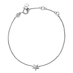 Links of London Sterling Silver Diamond Pave Star Bracelet - Product number 3888193