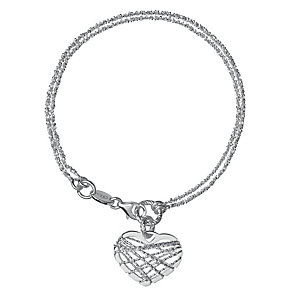 Links of London Dreamcatcher Sterling Silver Heart Bracelet - Product number 3888223