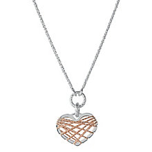 Links of London Dreamcatcher Sterling Silver Heart Pendant - Product number 3888231