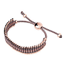 Links of London Silver& Rose Gold-plated Friendship Bracelet - Product number 3888290