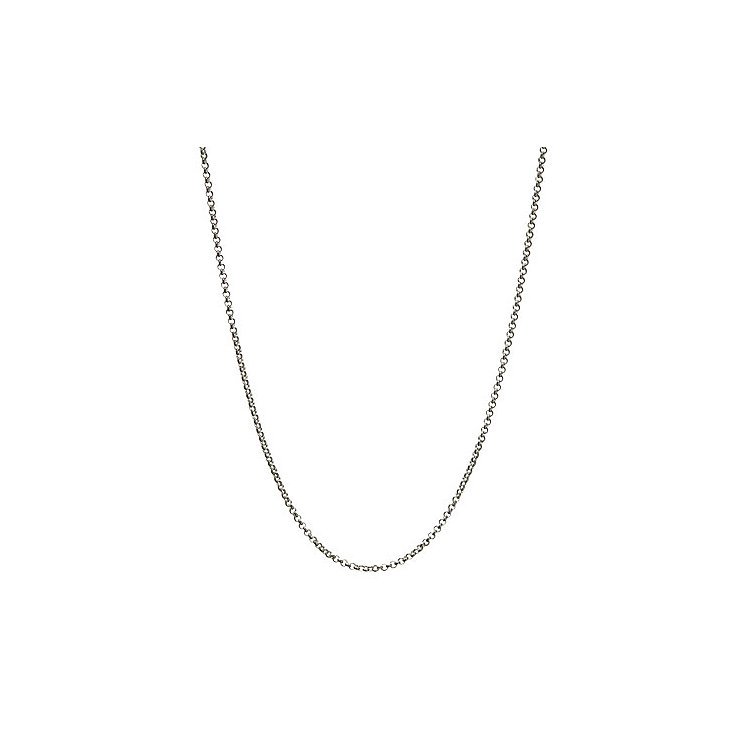 Links of London Sterling Silver Belcher Mini Chain 42cm - Product number 3888428
