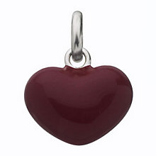 Links of London Sterling Silver Red Heart Charm - Product number 3888533