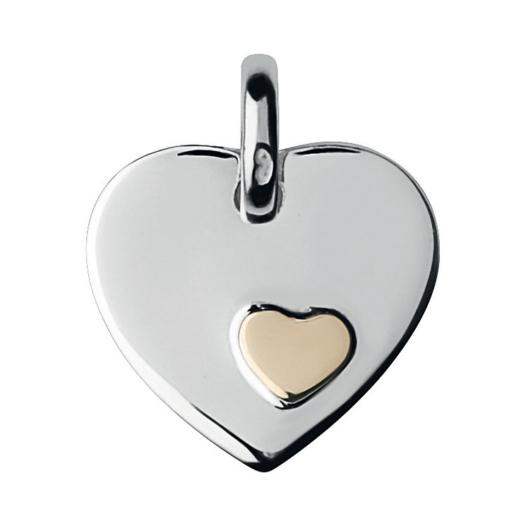 Links of London 18ct Gold Vermeil Heart Disc - Product number 3888606