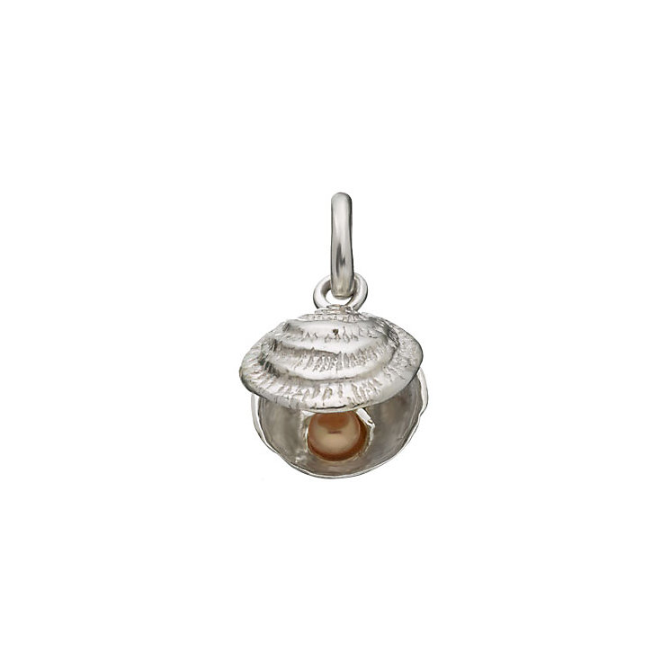 Links of London Sterling Silver Lucky Catch Shell Charm - Product number 3888673