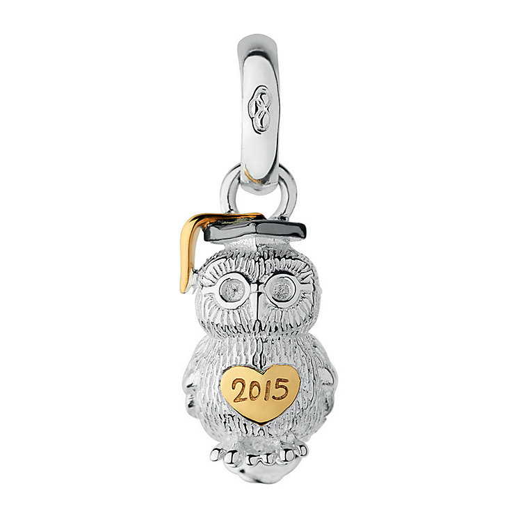 Links of London Sterling Silver & Yellow Gold-plated Charm - Product number 3888827