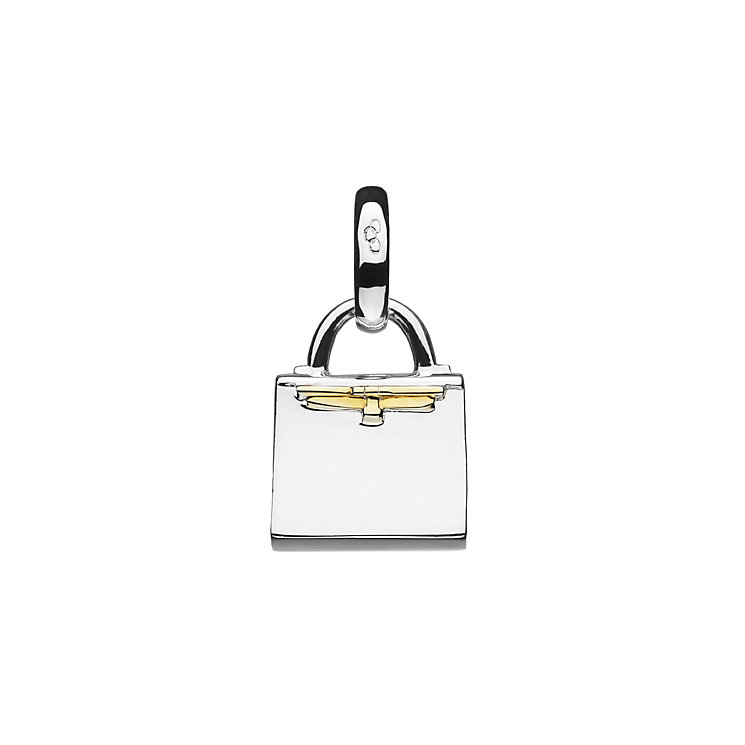 Links of London Sterling Silver Tres Chic Bag Charm - Product number 3888916