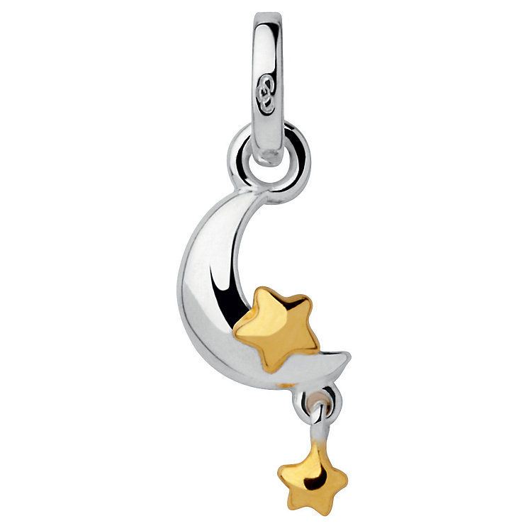Links of London Silver & Gold-plating Moon & Stars Charm - Product number 3889084