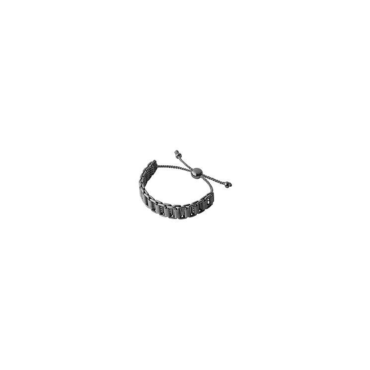 Links of London Men's Silver & Ruthenium Friendship Bracelet - Product number 3889114