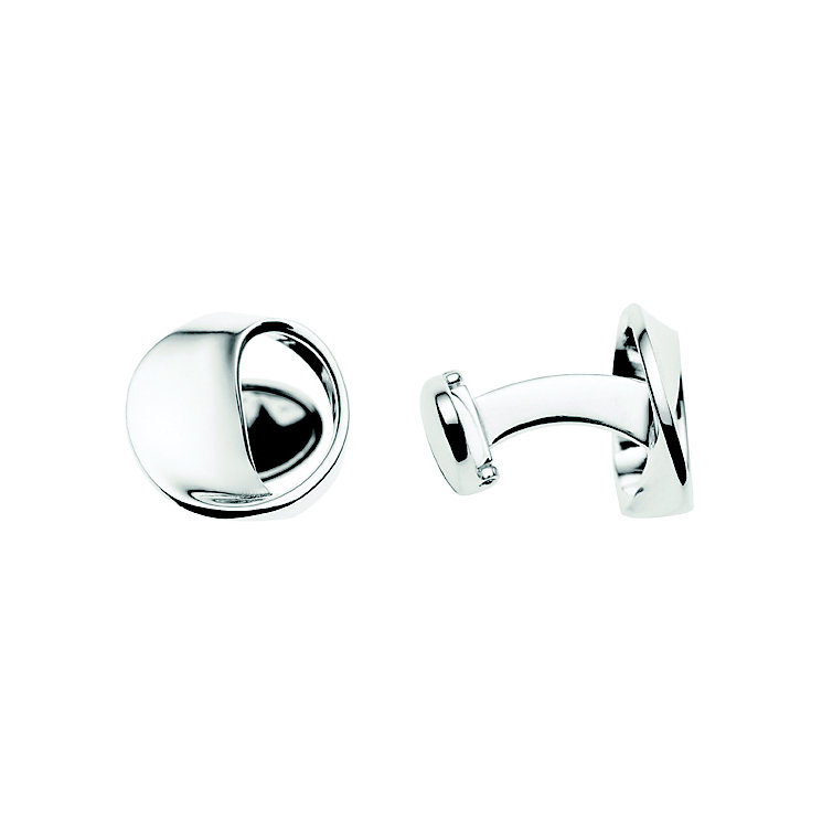 Links of London Men's Eternity Sterling Silver Cufflinks - Product number 3889289