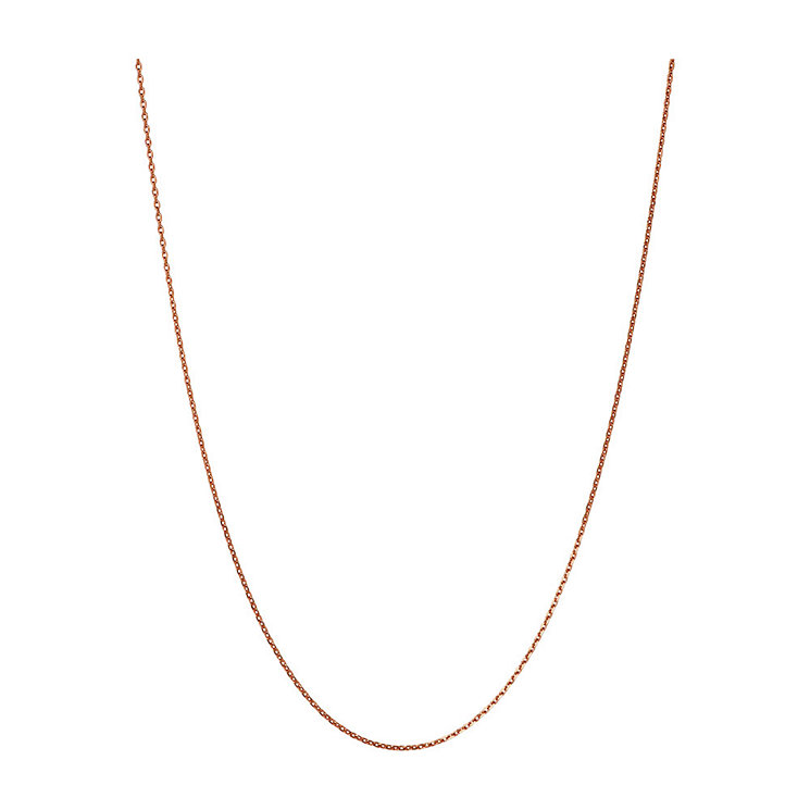 Links of London 18ct Rose Gold Vermeil Chain 50cm - Product number 3889467