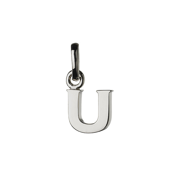 Links of London Sterling Silver Alphabet U Charm - Product number 3890368
