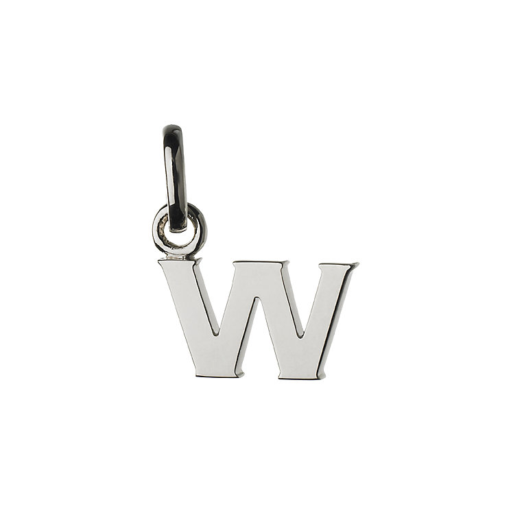 Links of London Sterling Silver Alphabet W Charm - Product number 3890473