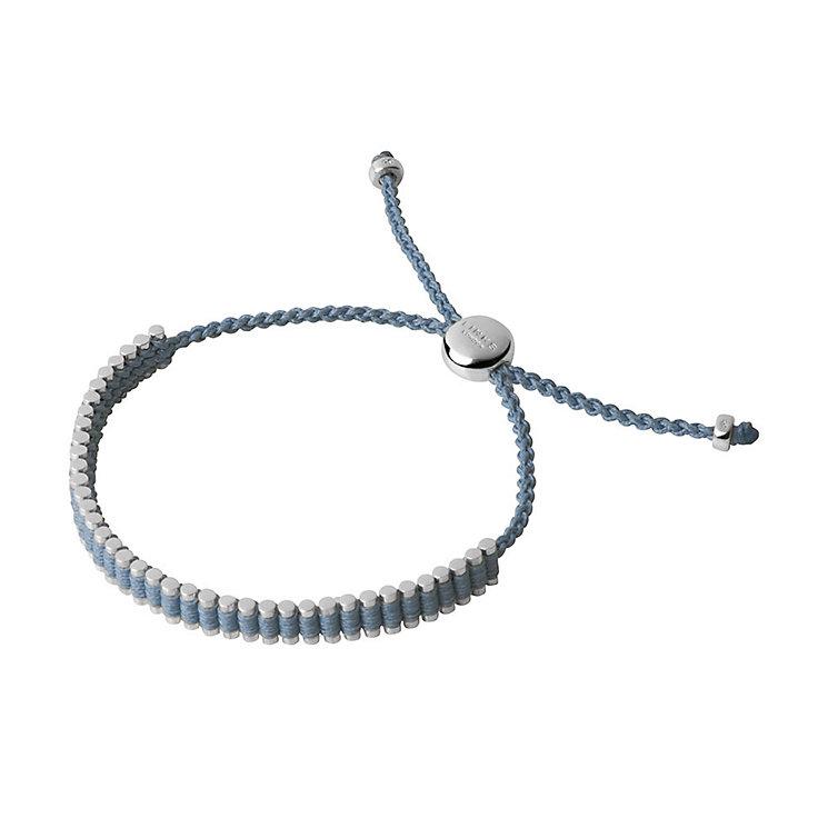 Links of London Silver Blue Mini Friendship Bracelet - Product number 3890570