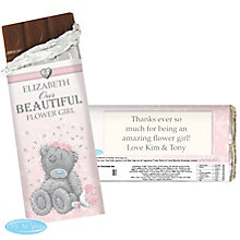 Personalised Me To You Girls Wedding Chocolate Bar - Product number 3890805