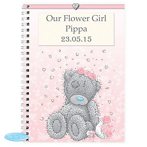 Personalised Me To You Girls Wedding Notebook - Product number 3890856