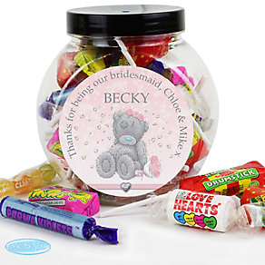 Personalised Me To You Girls Wedding Sweet Jar - Product number 3890872