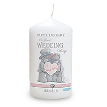 Personalised Me To You Wedding Couple Candle - Product number 3890902