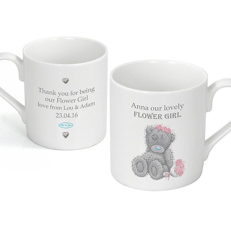 Personalised Me To You Girls Wedding Mug - Product number 3891054