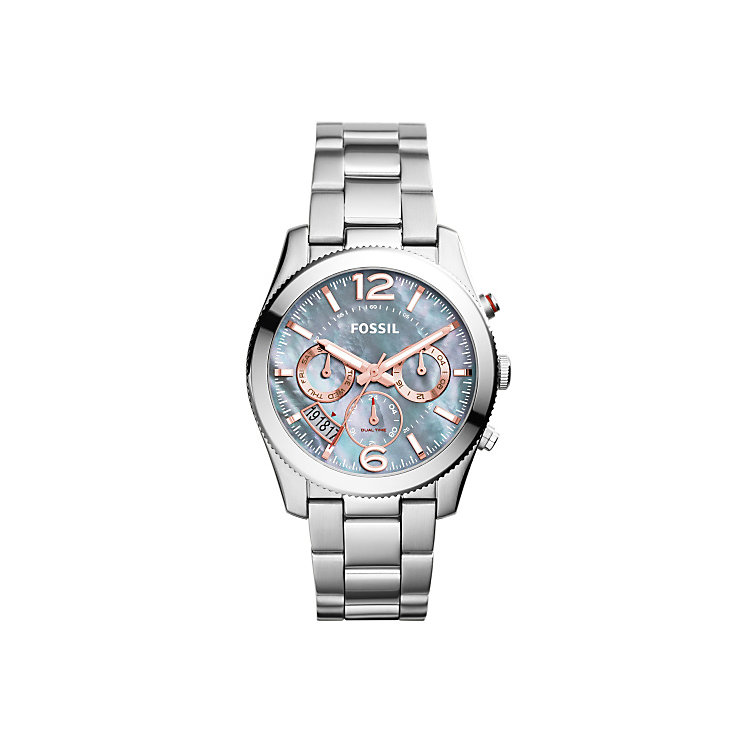 Fossil Perfect Ladies' Stainless Steel Bracelet Watch - Product number 3904318