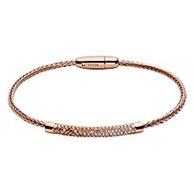 Fossil Glitz Rose Gold Tone Vintage Bracelet - Product number 3904350