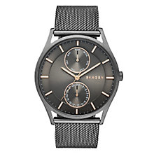 Skagen Holst Men's Stainless Steel Grey Dial Bracelet Watch - Product number 3907007