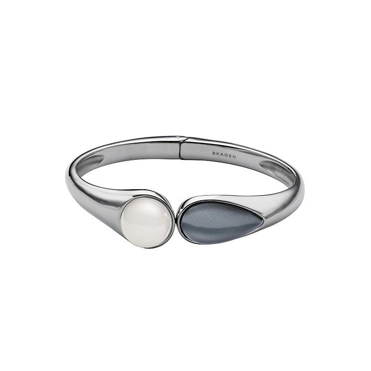 Skagen Sea Glass Stainless Steel Blue & White Bracelet - Product number 3907066