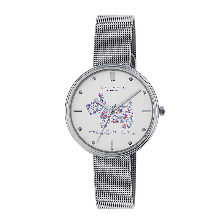 Radley Ladies' Silver Dial Stainless Steel Bracelet Watch - Product number 3907120