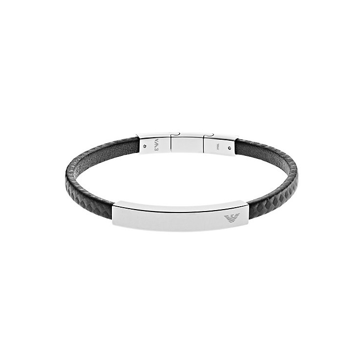 Emporio Armani Stainless Steel Carbon Bracelet - Product number 3907163