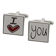 I Love You Cufflinks - Product number 3907198