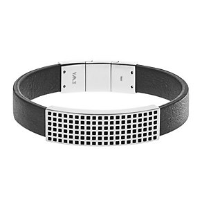 Emporio Armani Pure Stainless Steel Grid Bracelet - Product number 3907228