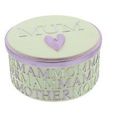Mum Resin Trinket Box - Product number 3907392