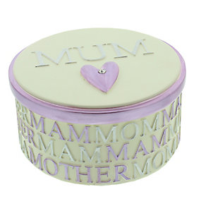 Mum Resin Trinket Box - Product number 3907392