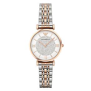 Emporio Armani Ladies' Two Colour Bracelet Watch - Product number 3907988