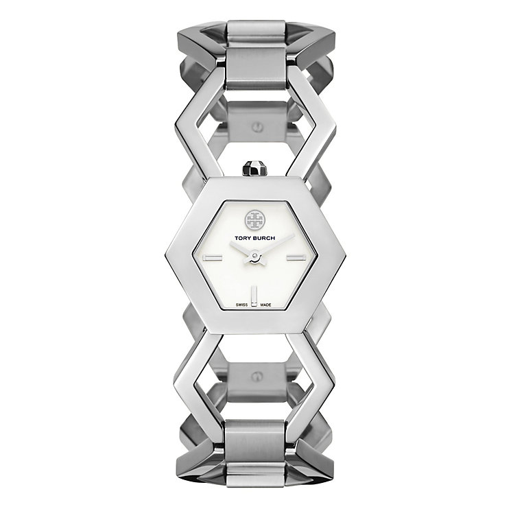 Tory Burch Amelia Ladies' Silver Bracelet Watch - Product number 3908690