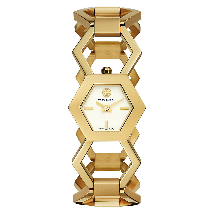 Tory Burch Amelia Ladies' Gold Tone Bracelet Watch - Product number 3908704