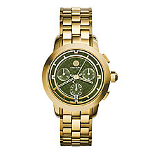 Tory Burch Ladies' Gold Tone Bracelet Watch - Product number 3908712