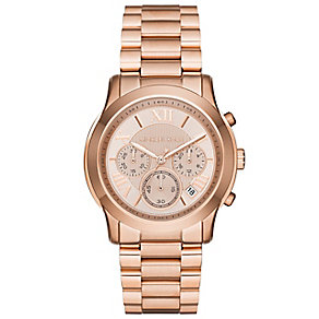 Michael Kors Cooper Ladies'  Rose Gold Tone Bracelet Watch - Product number 3908763