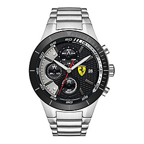 Ferrari Men's Stainless Steel Chronograph Bracelet Watch - Product number 3908984