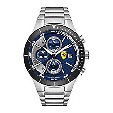Ferrari Men's Stainless Steel Chronograph Bracelet Watch - Product number 3908992